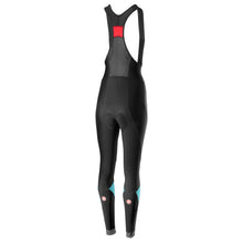 Load image into Gallery viewer, Castelli Velocissima Bibtight - Black/Celeste