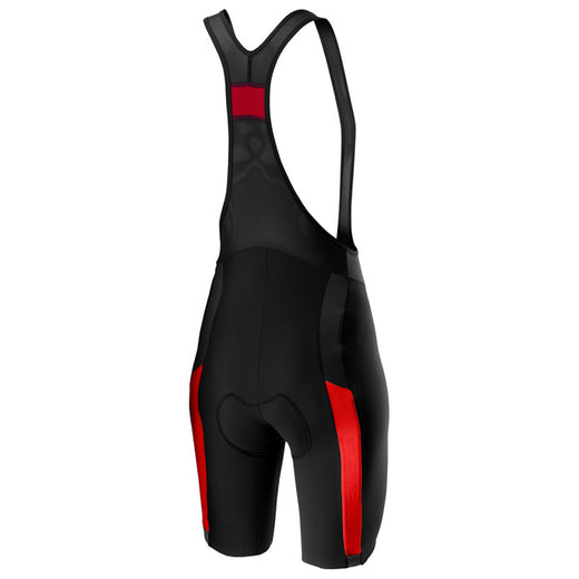 Castelli Velocissima 2 Bibshort - Black/Red