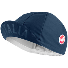 Load image into Gallery viewer, Castelli Italia 20 Cap - Dark Infinity Blue