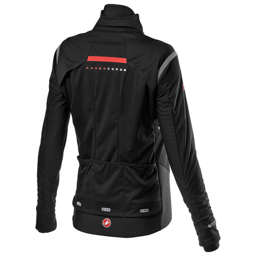 Castelli Alpha Ros 2 W Light Jacket - Light Black