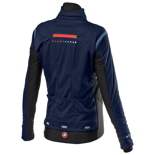 Castelli Alpha Ros 2 W Light Jacket - Savile Blue