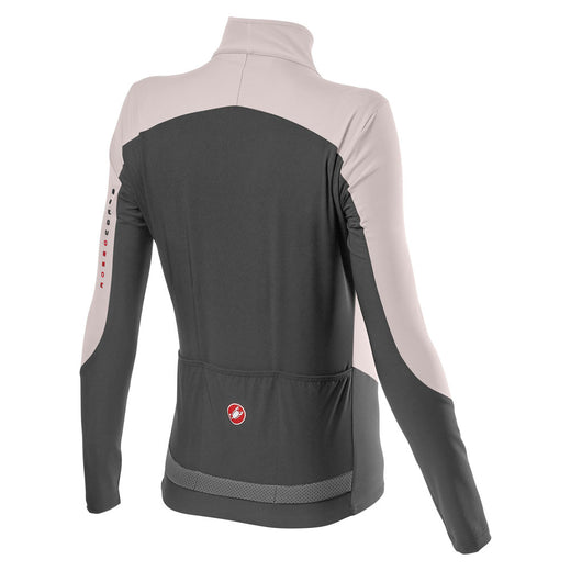 Castelli Beta Ros W Jacket - Ivory/Dark Gray