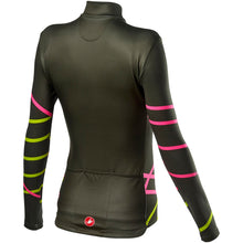 Load image into Gallery viewer, Castelli Diagonal W Jersey Fz - Military Green