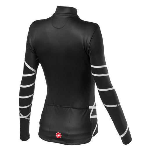 Castelli Diagonal W Jersey Fz - Light Black
