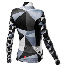 Load image into Gallery viewer, Castelli Triangolo Mid W Jersey Fz - Black/White