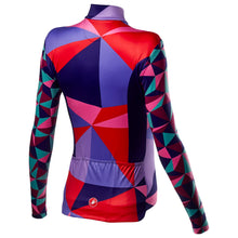 Load image into Gallery viewer, Castelli Triangolo Mid W Jersey Fz - Multicolor Purple