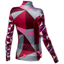 Load image into Gallery viewer, Castelli Triangolo Mid W Jersey Fz - Multicolor Pink