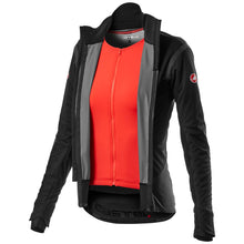 Load image into Gallery viewer, Castelli Alpha Ros 2 W Light Jacket - Light Black
