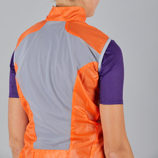 Sportful Hot Pack Easylight Women's Vest - Orange SDR