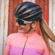 Load image into Gallery viewer, Stolen Goat Bodyline Long Sleeve Womens Cycling Jersey - Industry Pink