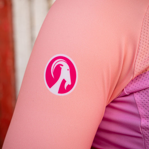 Stolen Goat Bodyline Long Sleeve Womens Cycling Jersey - Industry Pink