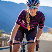 Load image into Gallery viewer, Stolen Goat Bodyline Womens Cycling Jersey - Cortado Cerise