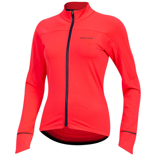 Pearl Izumi Jersey W Attack Thermal - Red | VeloVixen