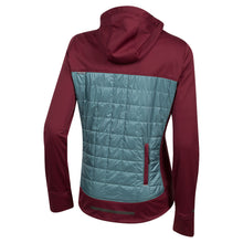 Load image into Gallery viewer, Pearl Izumi Versa Quilted Hoody - Port/Arctic