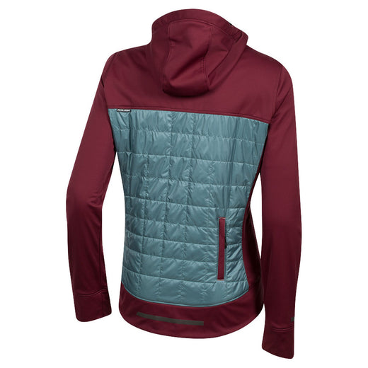 Pearl Izumi Versa Quilted Hoody - Port/Arctic