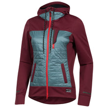 Load image into Gallery viewer, Pearl Izumi Versa Quilted Hoody - Port/Arctic | VeloVixen