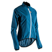 Load image into Gallery viewer, Rivelo Womens Garrowby Packable Jacket - Teal | Velo Vixen