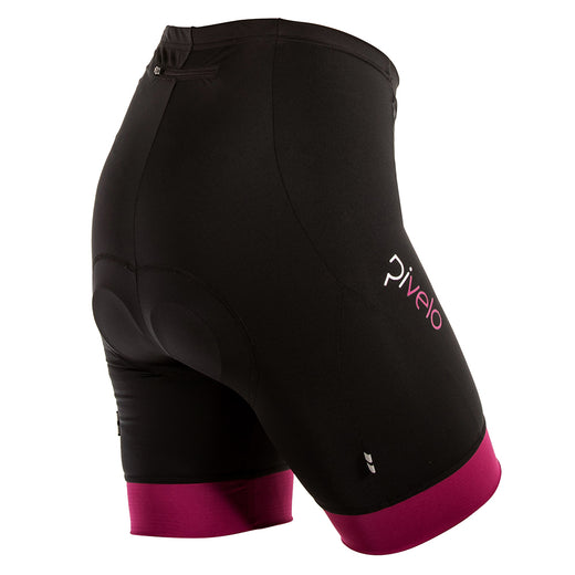 Rivelo Womens Ranmore Shorts - Black/Magenta
