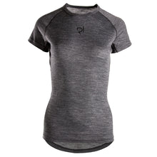 Load image into Gallery viewer, Rivelo Womens Millington Merino Ss Base Layer - Charcoal | VeloVixen