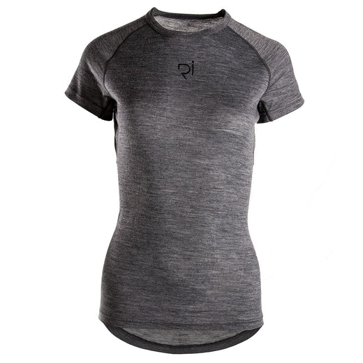 Rivelo Womens Millington Merino Ss Base Layer - Charcoal | VeloVixen