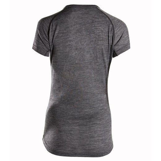 Rivelo Millington Merino Short Sleeve Base Layer - Charcoal