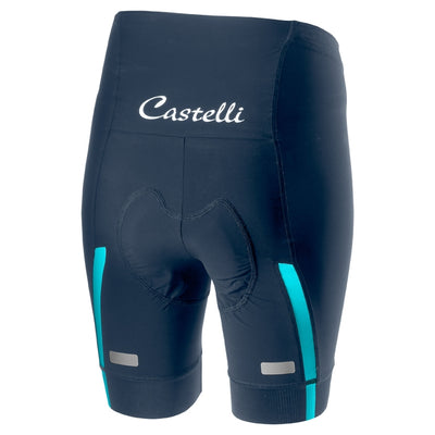 Castelli Velocissima Short - Dark Steel Blue-Turquoise Green