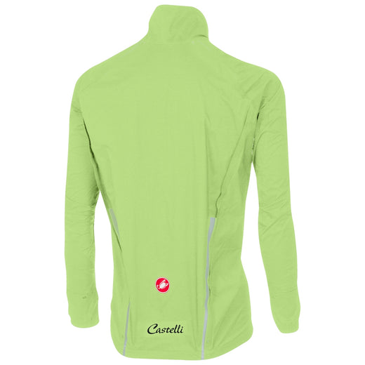 Castelli Emergency Rain Jacket - Yellow Fluo