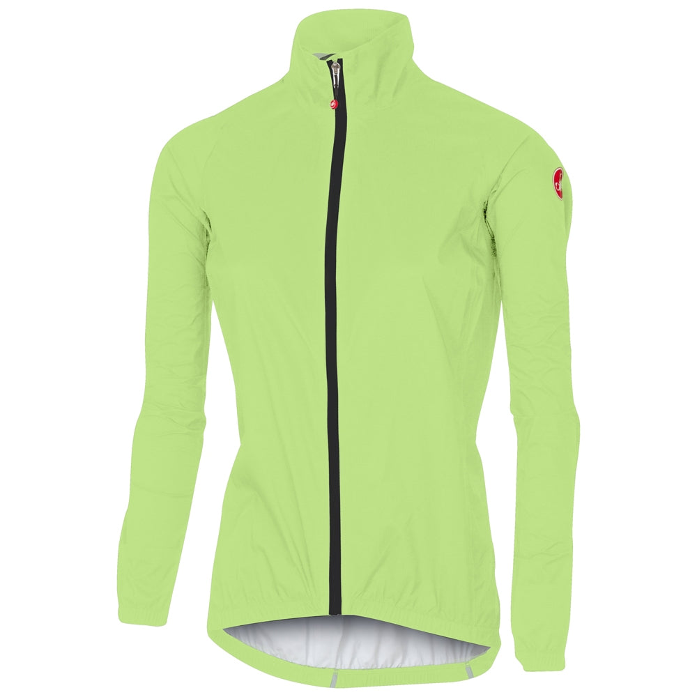 Castelli Emergency W Jacket - Yellow Fluo | Velo Vixen