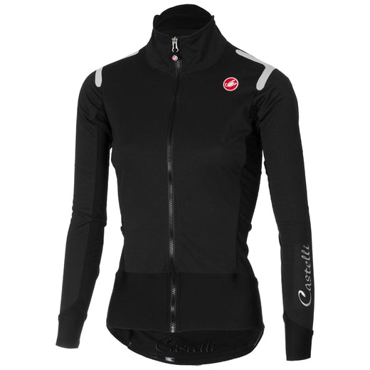 Castelli Alpha Ros Women's Light Jacket Light Black | VeloVixen