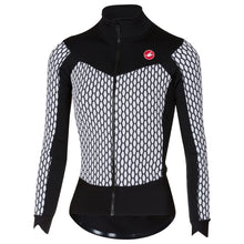 Load image into Gallery viewer, Castelli Sfida W Jersey Fz - White/Black | VeloVixen