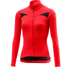 Load image into Gallery viewer, Castelli Sinergia Jersey Fz - Red | VeloVixen