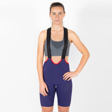 Load image into Gallery viewer, Iris Signature Bib Short II - Blueberry
