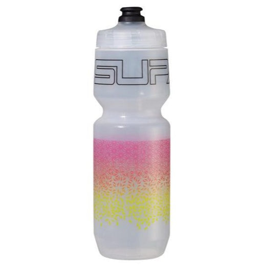 Supacaz Star Fade 750ml Bottle - Neon Yellow & Neon Pink  | VeloVixen