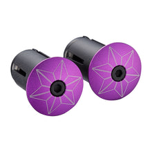 Load image into Gallery viewer, Supacaz Super Sticky Kush TruNeon Bar Tape - Neon Purple