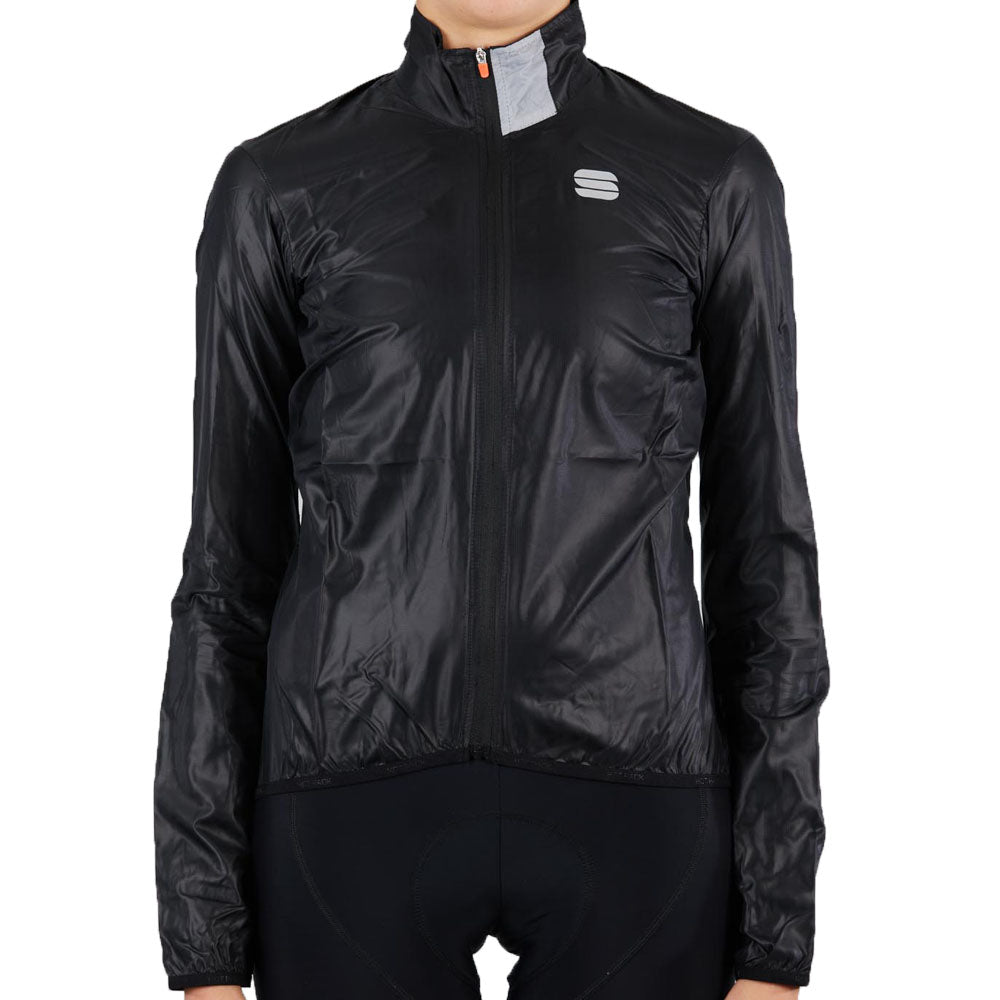 Sportful Hot Pack Easylight Women's Jacket - Black | VeloVixen