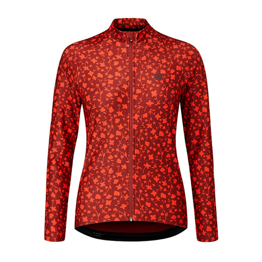 Chapeau!'s Rosa Jersey, made with moisture wicking Italian fabric, is a thermal jersey that will keep you comfortable and dry throughout your ride while providing the perfect level of warmth. The slim and fitted cut that is not designed to be super clingy and is super versatile.