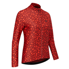 Load image into Gallery viewer, Chapeau! Rosa Long Sleeve Thermal Jersey Pattern - Warm Red