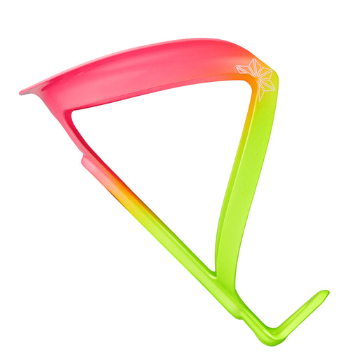 Supacaz Fly Cage Limited (Aluminum) - Neon Yellow & Neon Pink  | VeloVixen