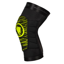 Load image into Gallery viewer, Endura SingleTrack Lite Knee Protector - Lime Green | VeloVixen