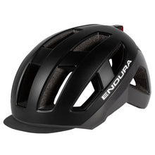 Load image into Gallery viewer, Endura Urban Luminite Helmet - Black | VeloVixen