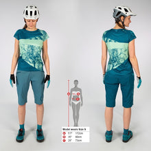 Load image into Gallery viewer, Endura Singletrack Dots Hi-Viz Coral T-Shirt
