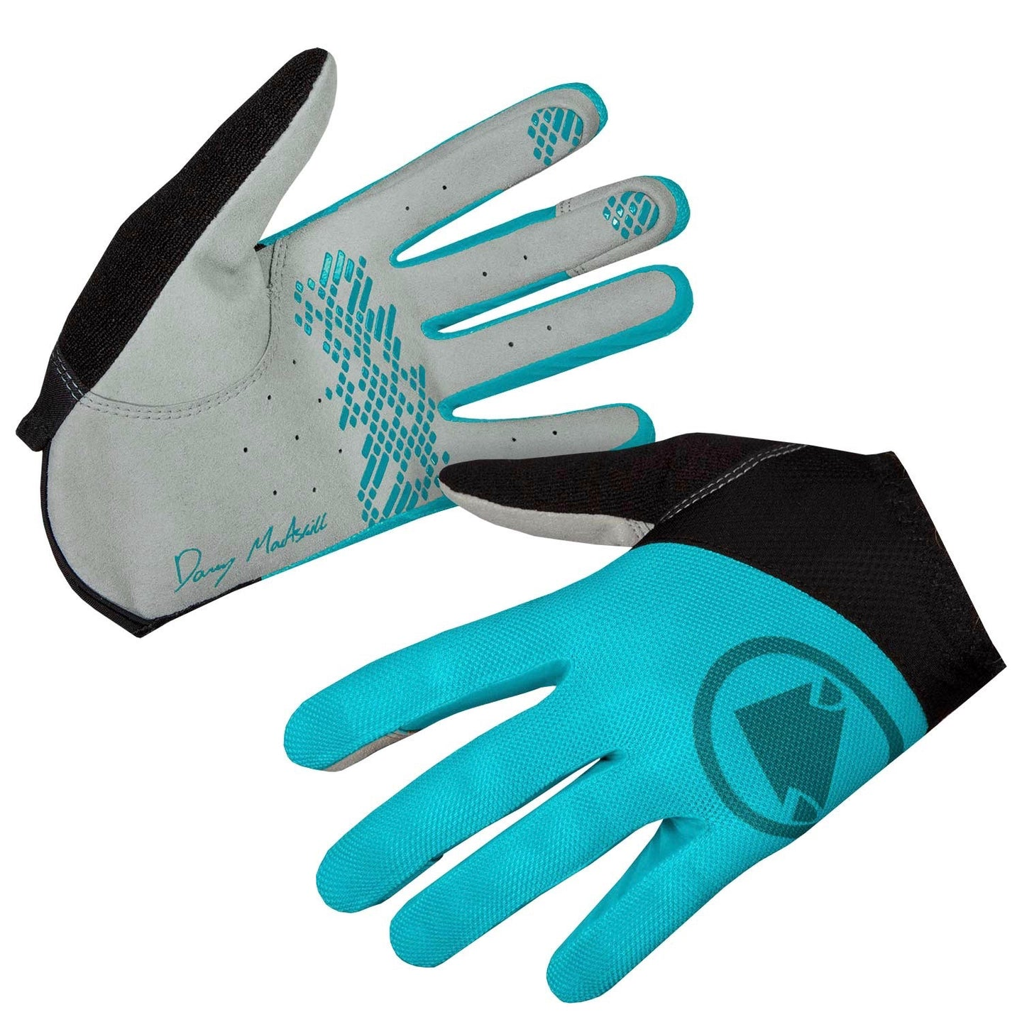 Endura Hummvee Lite Icon Glove - Pacific Blue