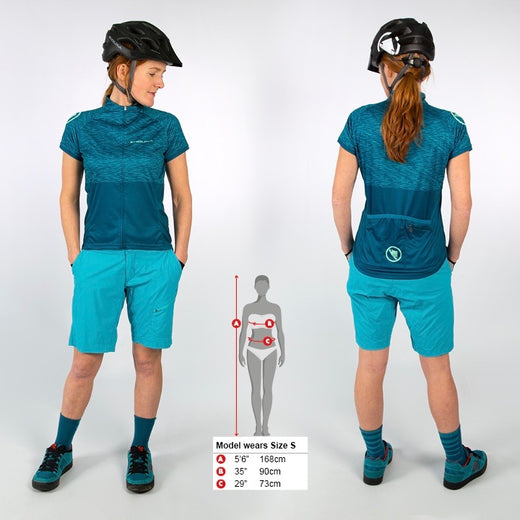 Endura Hummvee Ray Jersey II - Kingfisher