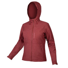 Load image into Gallery viewer, Endura Hummvee Waterproof Hooded Jacket - Cocoa | VeloVixen
