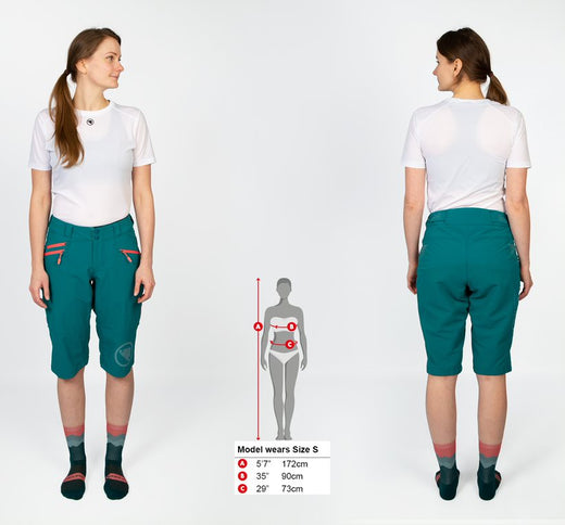 Endura Singletrack Short II - Spruce Green