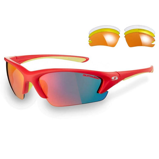 Sunwise Sunglasses Equinox Red | VeloVixen