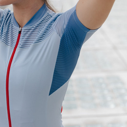 Iris Split Decision Jersey - Powder Blue