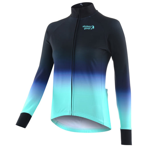Stolen Goat Orkaan Everyday Long Sleeve Jersey - Ayoki Blue | VeloVixen
