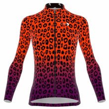 Load image into Gallery viewer, VeloVixen Cheetah Long Sleeve Cycling Jersey