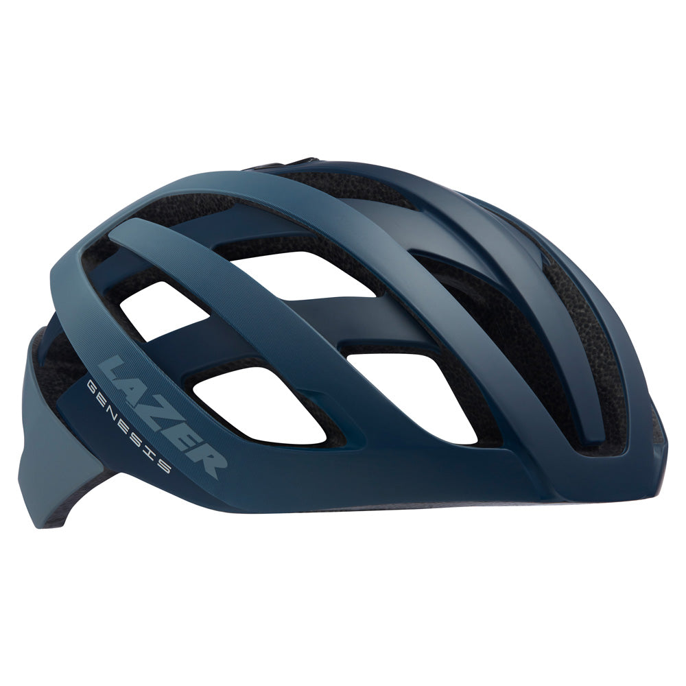 The lightest Lazer helmet ever made, the Genesis helmet resets the bar for top level performance cycling.
